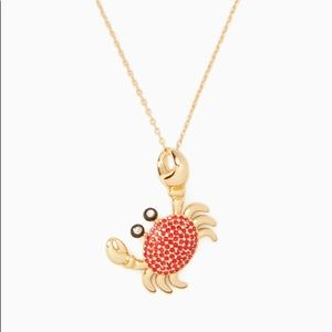 Kate Spade Shore Thing Crab Pendant Necklace